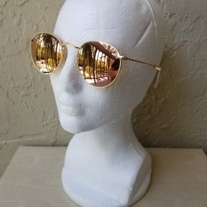 Ray-Ban Round Metal Remix - Gold & Copper Flash